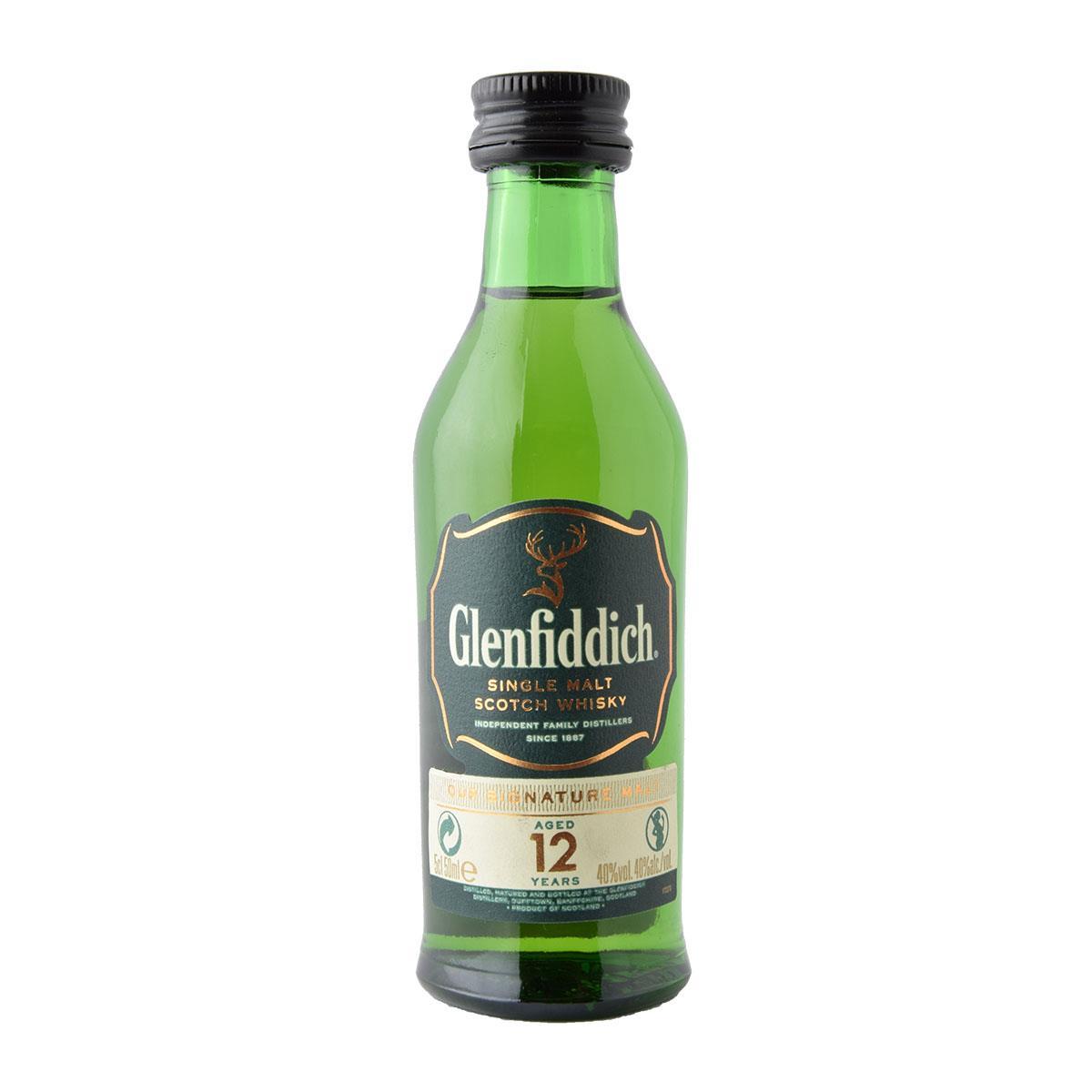 Glenfiddich 12 y.o. 50ml