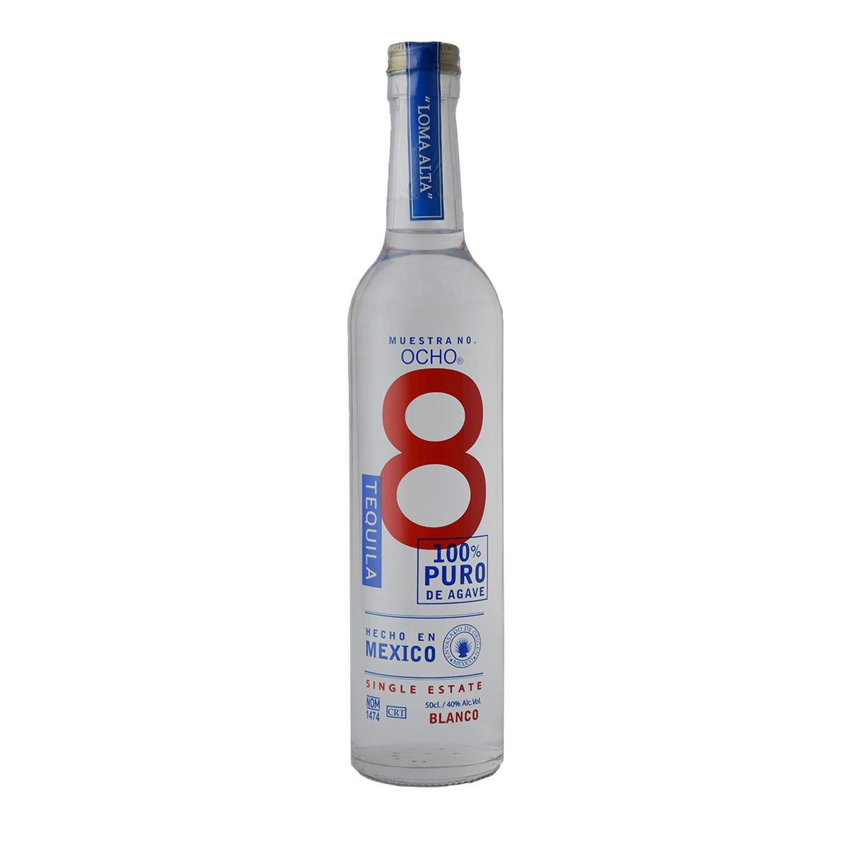 Ocho Blanco Tequila 500ml