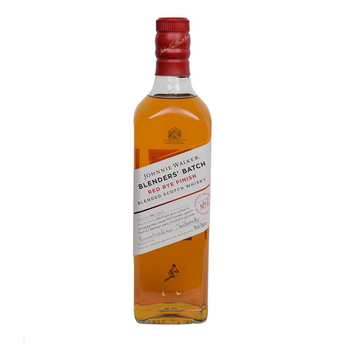 Johnnie Walker Blenders Batch Red Rye Finish 700ml