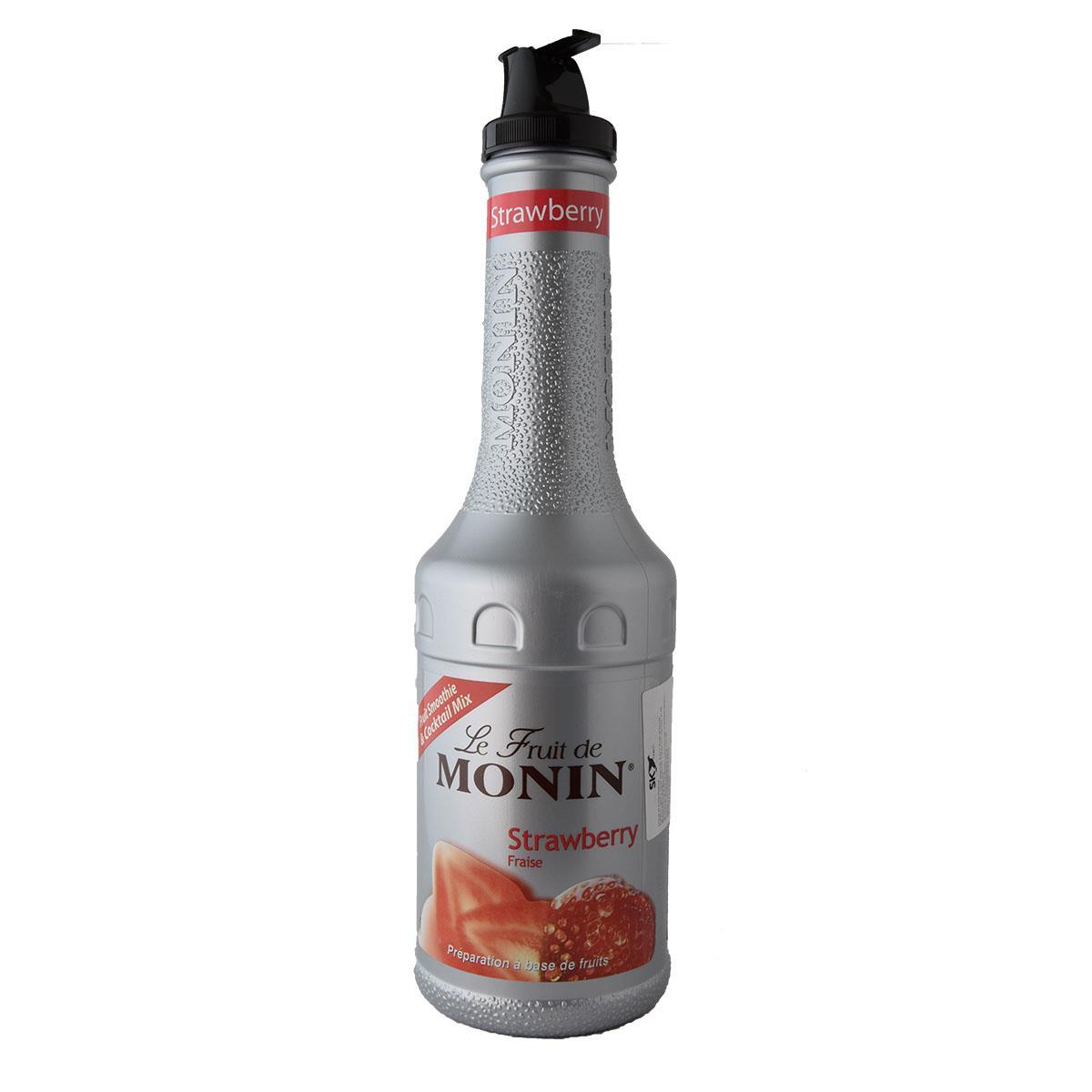 Monin Πουρές Φράουλα 1lt
