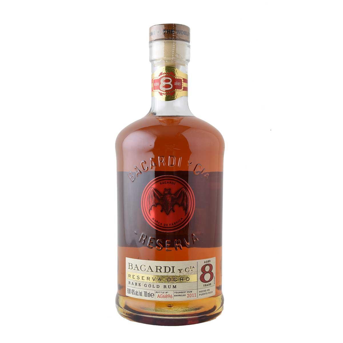 Bacardi 8anos Rum 700ml
