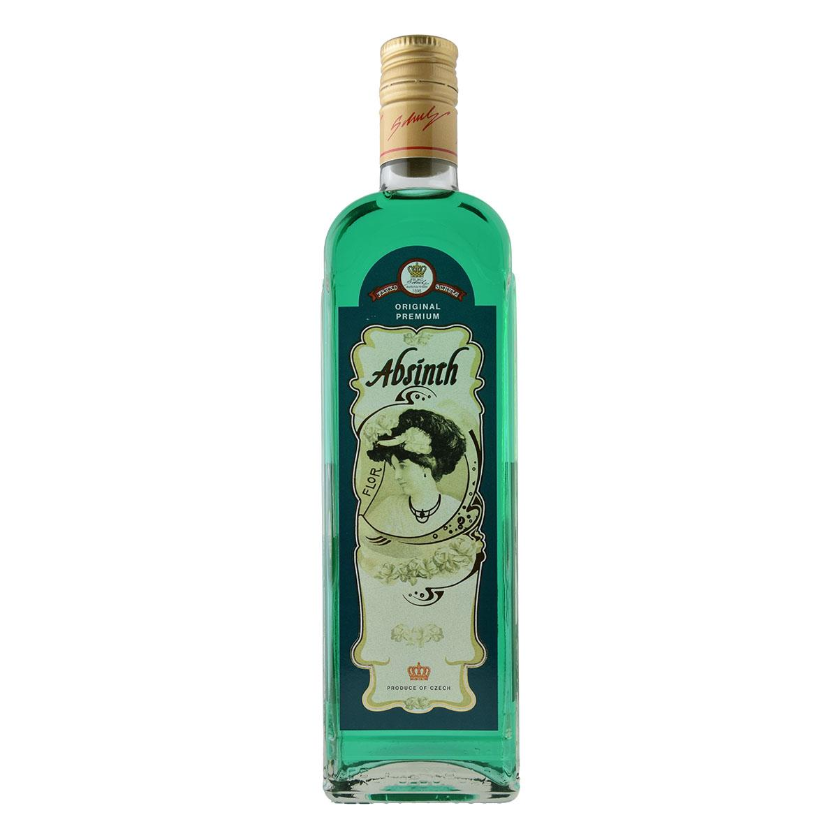 Fruko Schulz Green Absinth 60%vol. 500ml