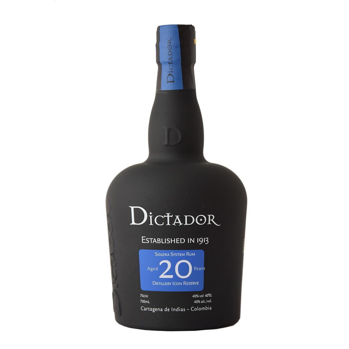 Dictador 20 y.o. Rum 700ml
