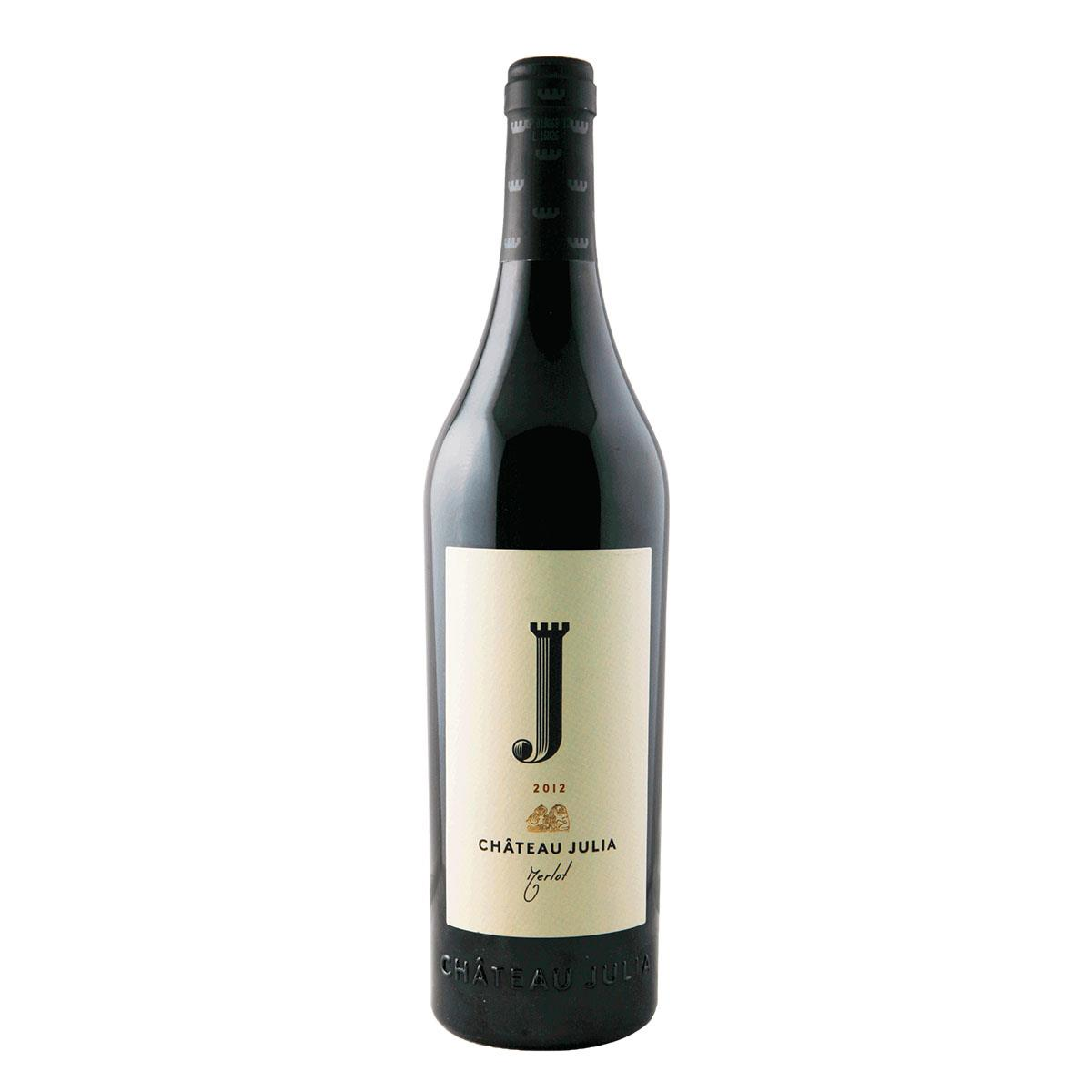 Λαζαρίδης Κ. Chateau Julia Merlot 750ml