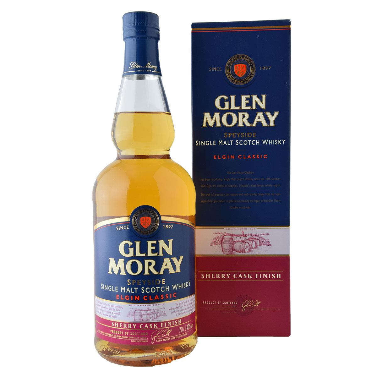 Glen Moray Sherry Cask Finish 700ml
