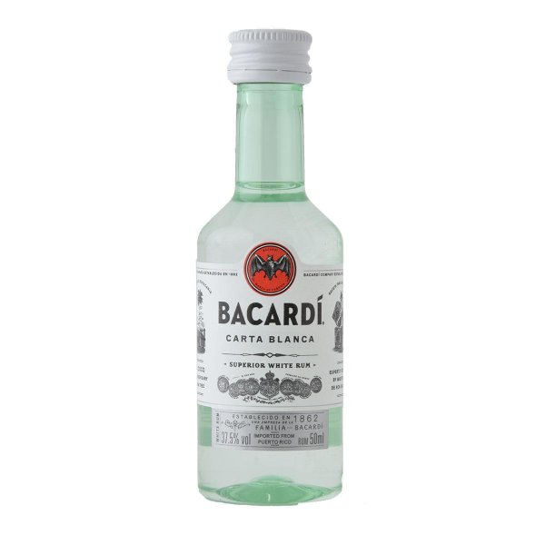 Bacardi Carta Blanca 50ml