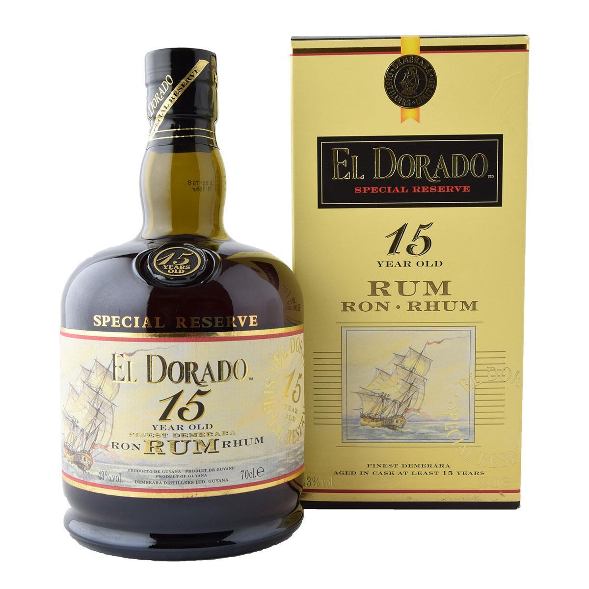 El Dorado 15 y.o. Rum 700ml