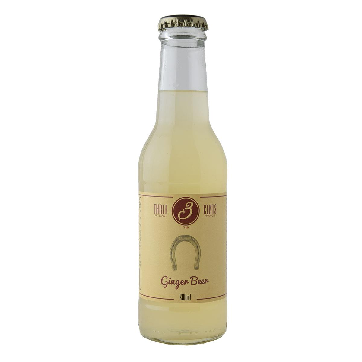 Three Cents Ginger Beer 200ml