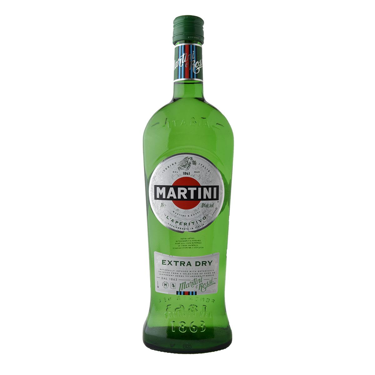 Martini Extra Dry Vermouth 1lt