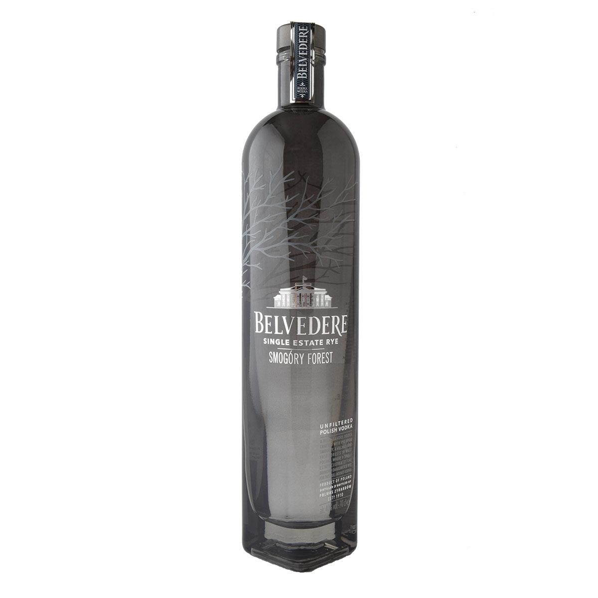Belvedere Single Estate Rye Smogory Forest Βότκα 700ml