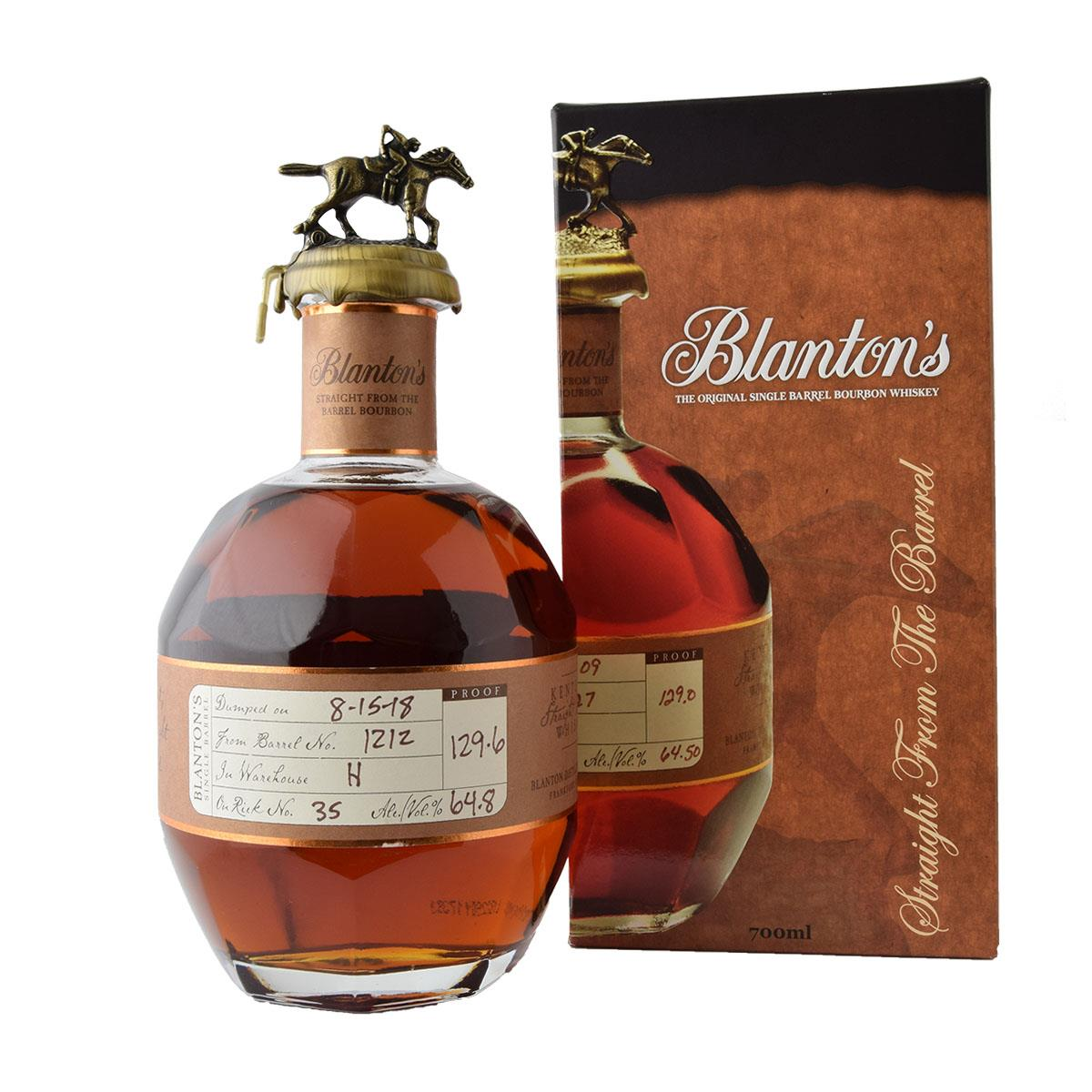 Blantons Straight From The Barrel 700ml