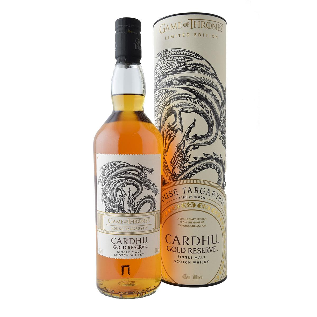 Cardhu Gold Reserve Game of Thrones 700ml