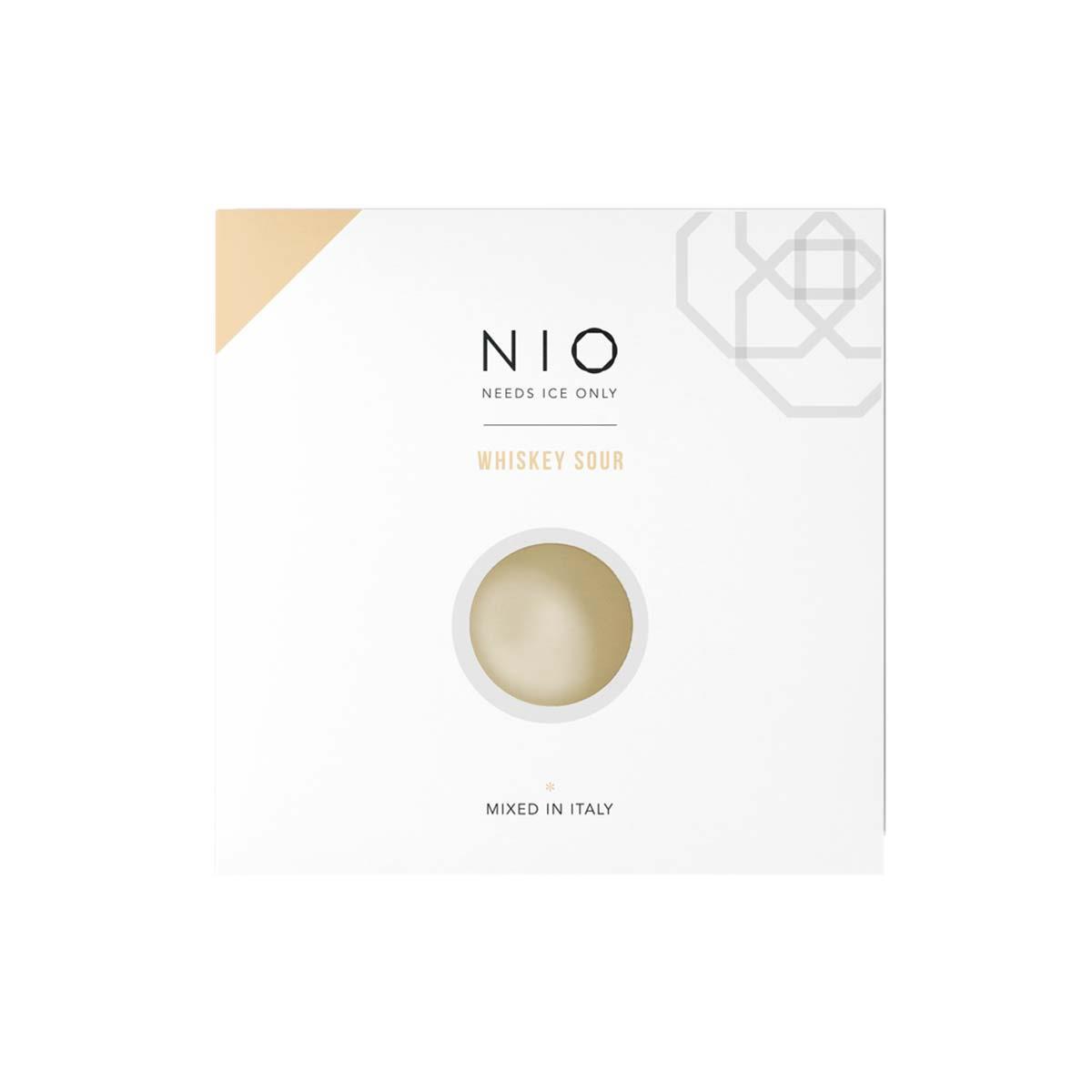 Nio coctails Whiskey Sour 100ml