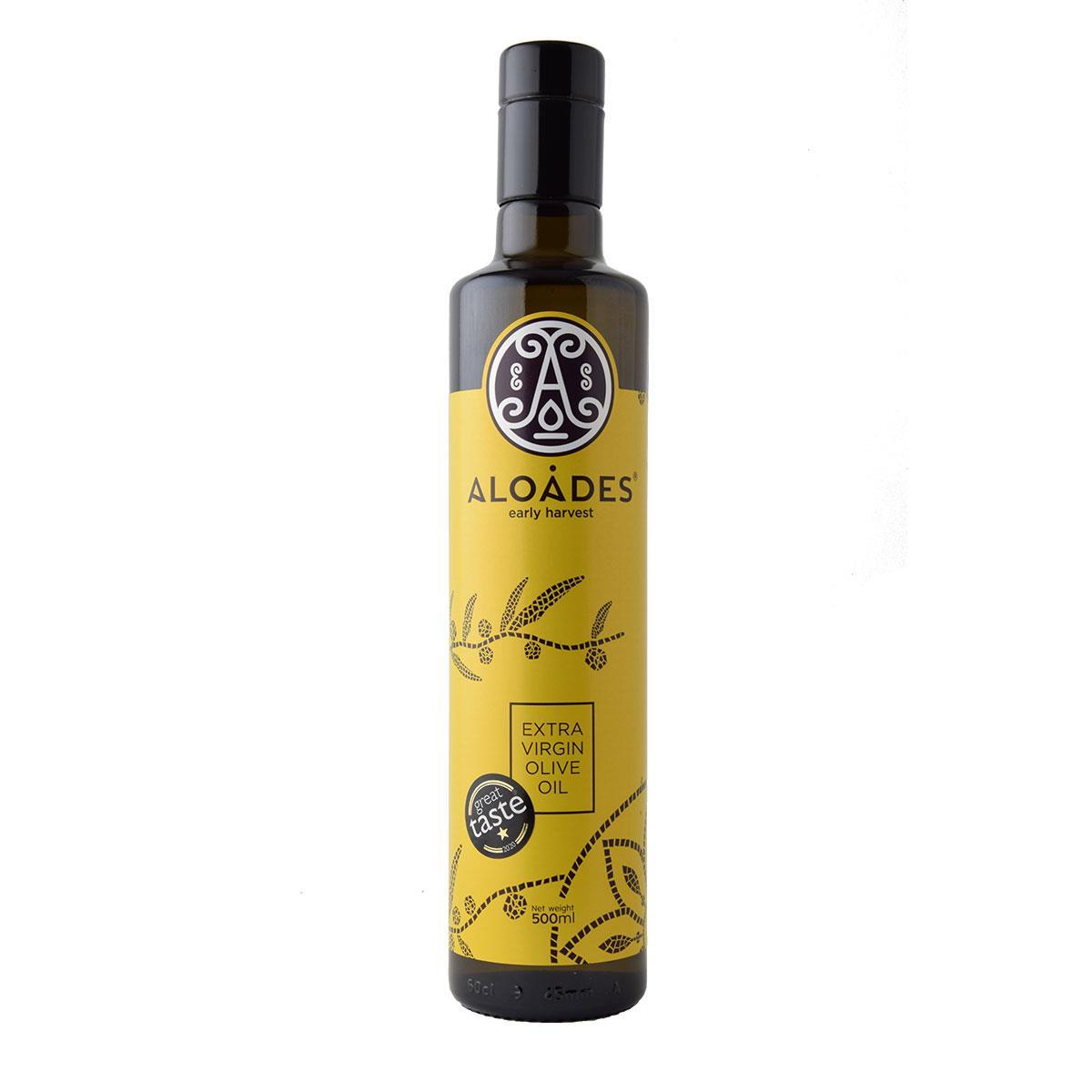 Aloades early harvest ελαιόλαδο 500ml