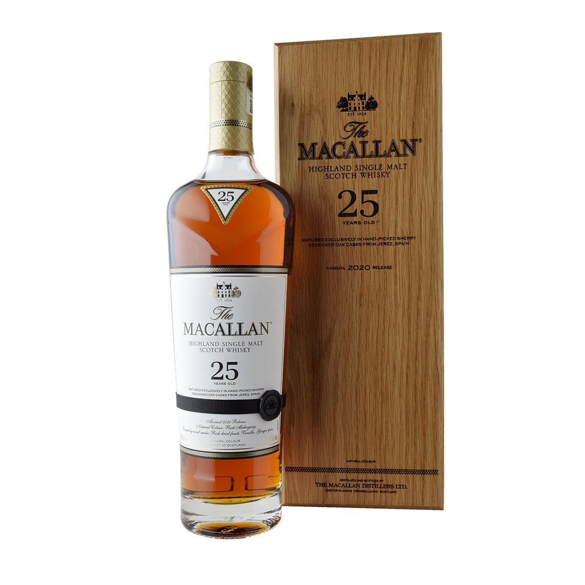 Macallan 25 y.o. Sherry Cask Edition 2020 700ml