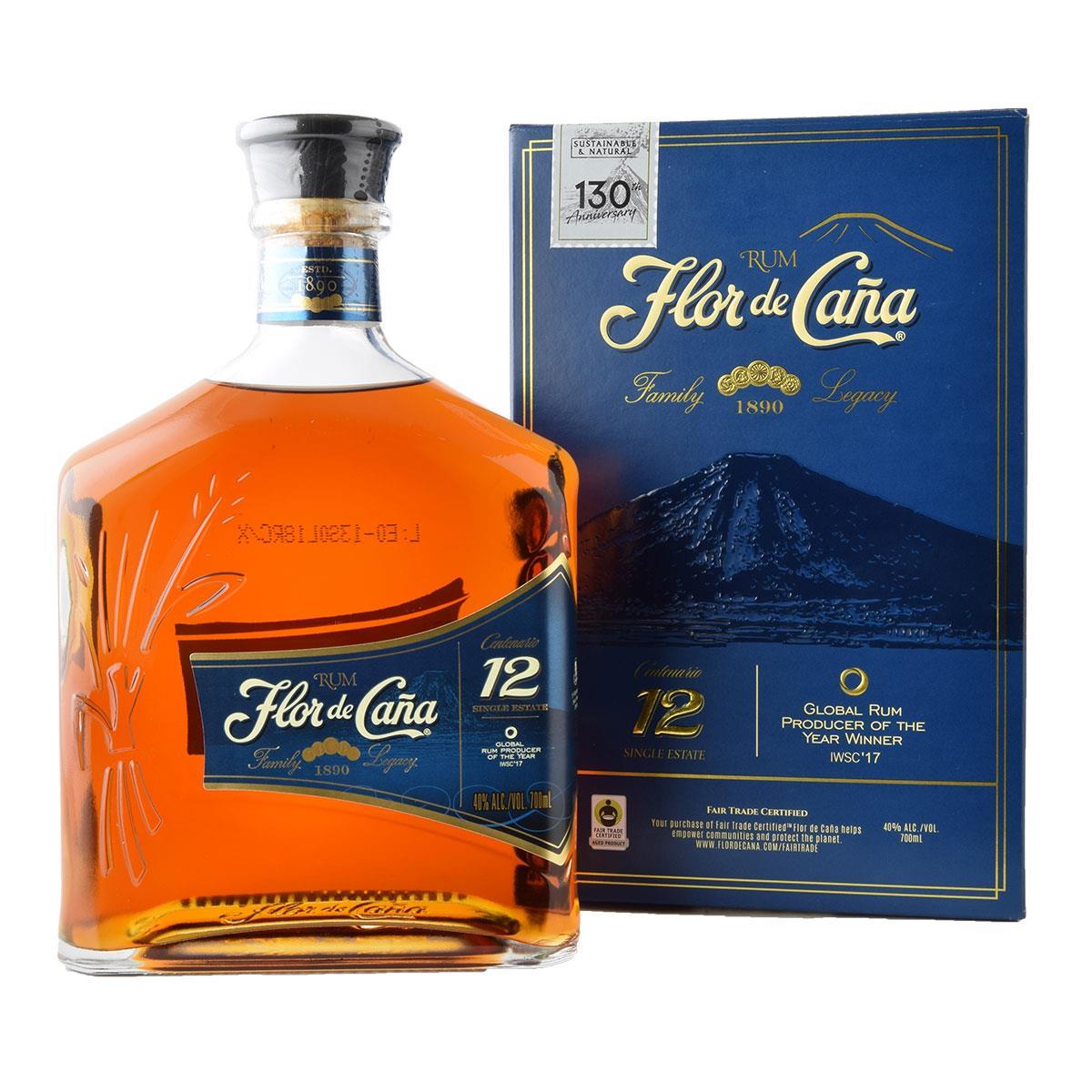 Flor de Cana Centenario 12 Rum 700ml