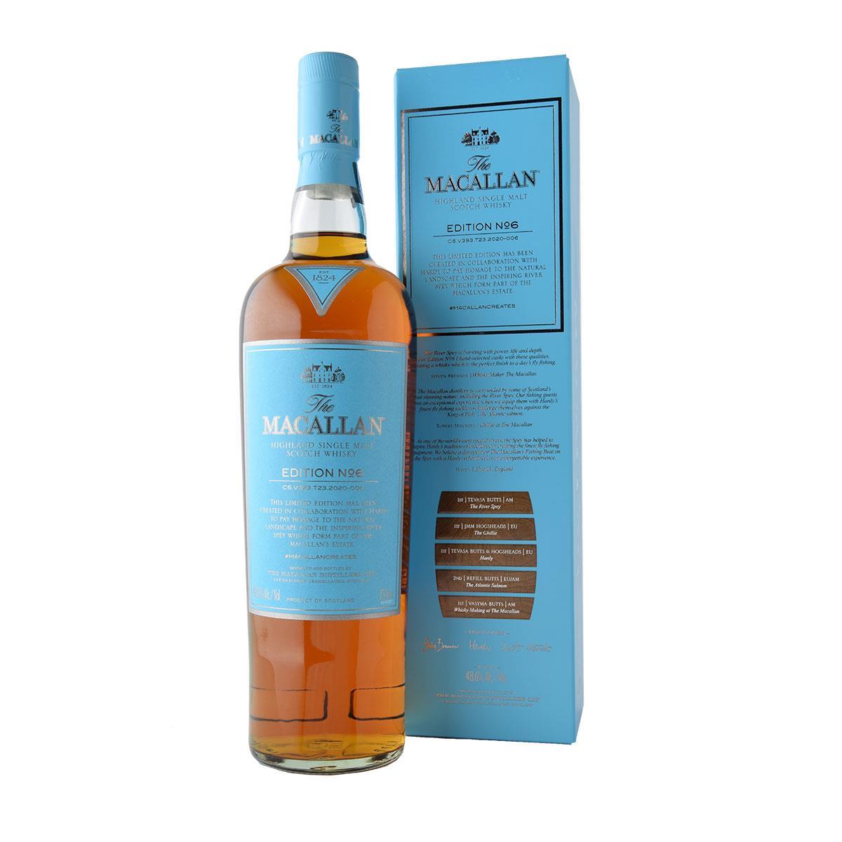 Macallan Edition No.6 700ml