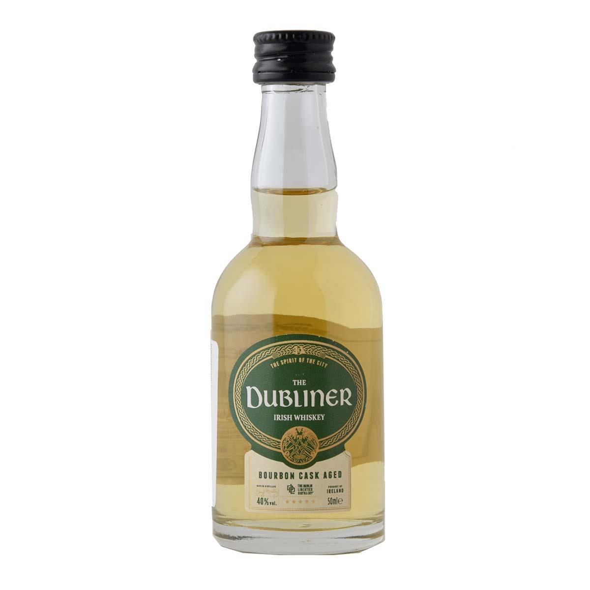 Dubliner Irish Bourbon Cask Aged 50ml