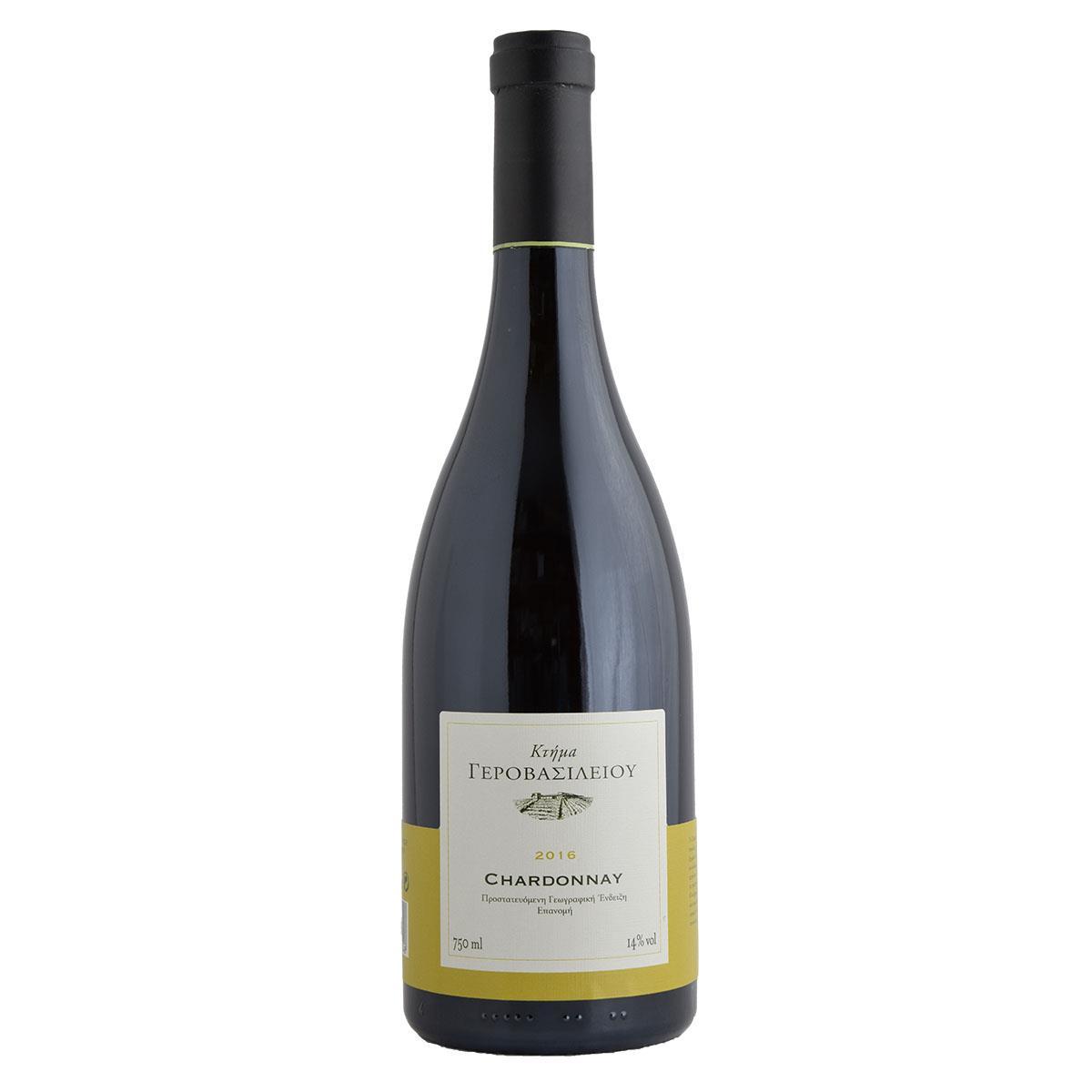 Γεροβασιλείου Chardonnay 750ml Λευκό