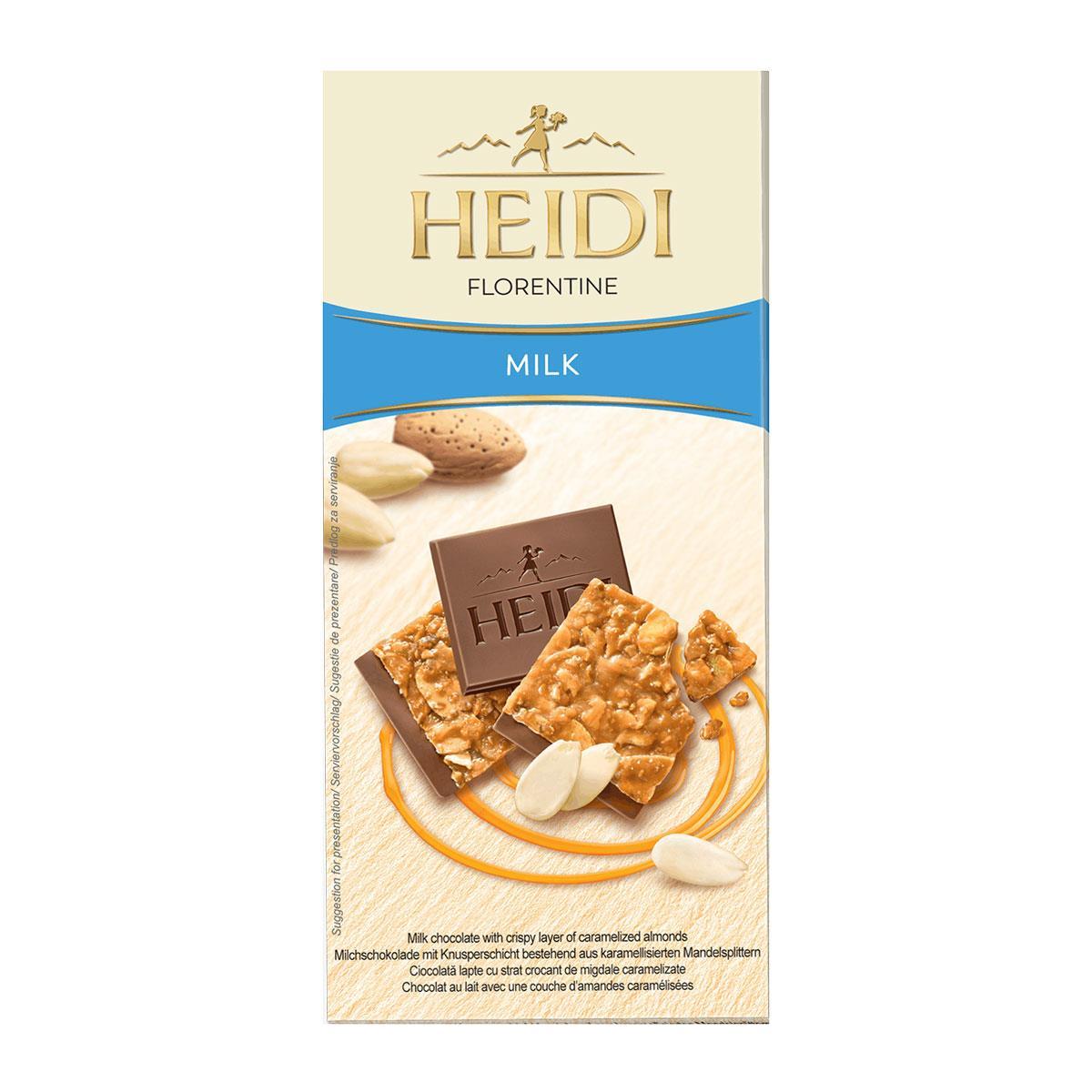 Heidi Florentine Milk 100gr.