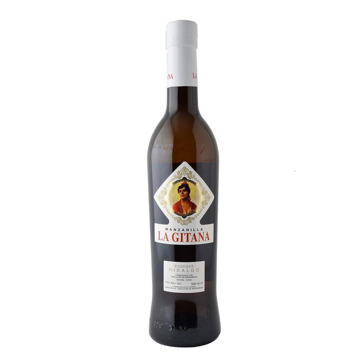 Hidalgo Manzanilla La Gitana Sherry 500ml Λευκό