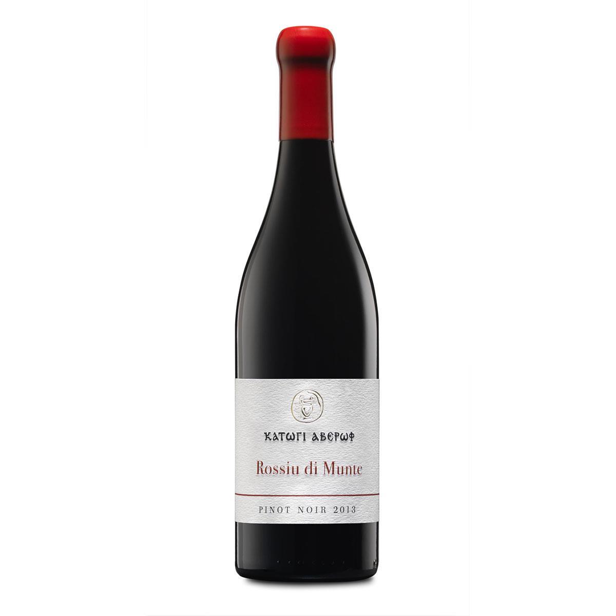 Κατώγι Αβέρωφ Rossiu di Munte Pinot Noir 750ml Ερυθρό