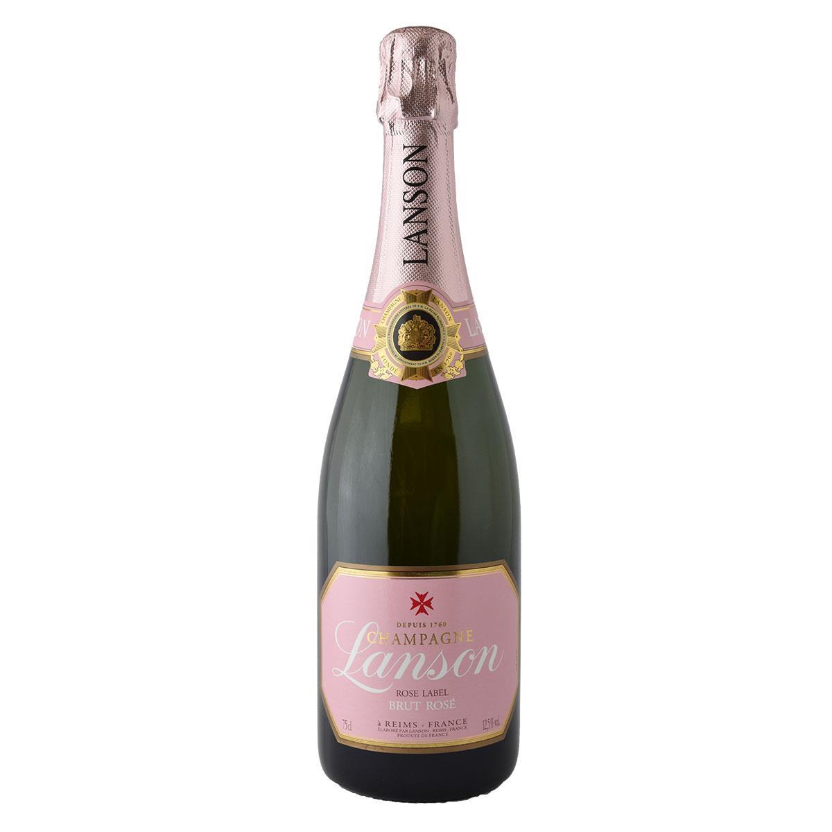 Lanson Rose Label Brut 750ml Ροζέ