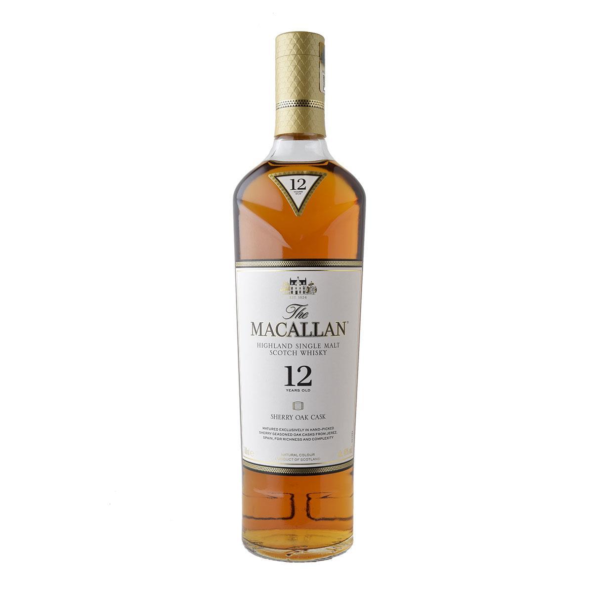 Macallan 12 y.o. Sherry Oak Cask 700ml
