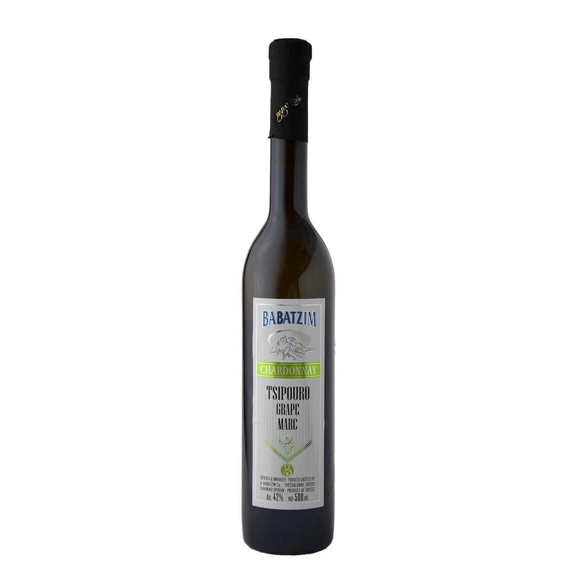 Μπαμπατζίμ Απόσταγμα Chardonnay 500ml